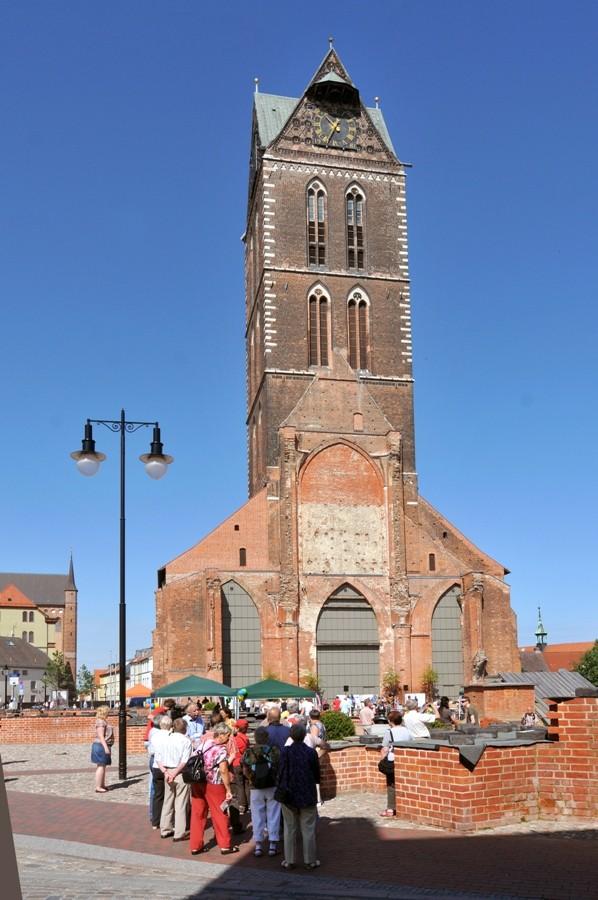 St. Marien, ... wo ist das Kirchenschiff geblieben ?
