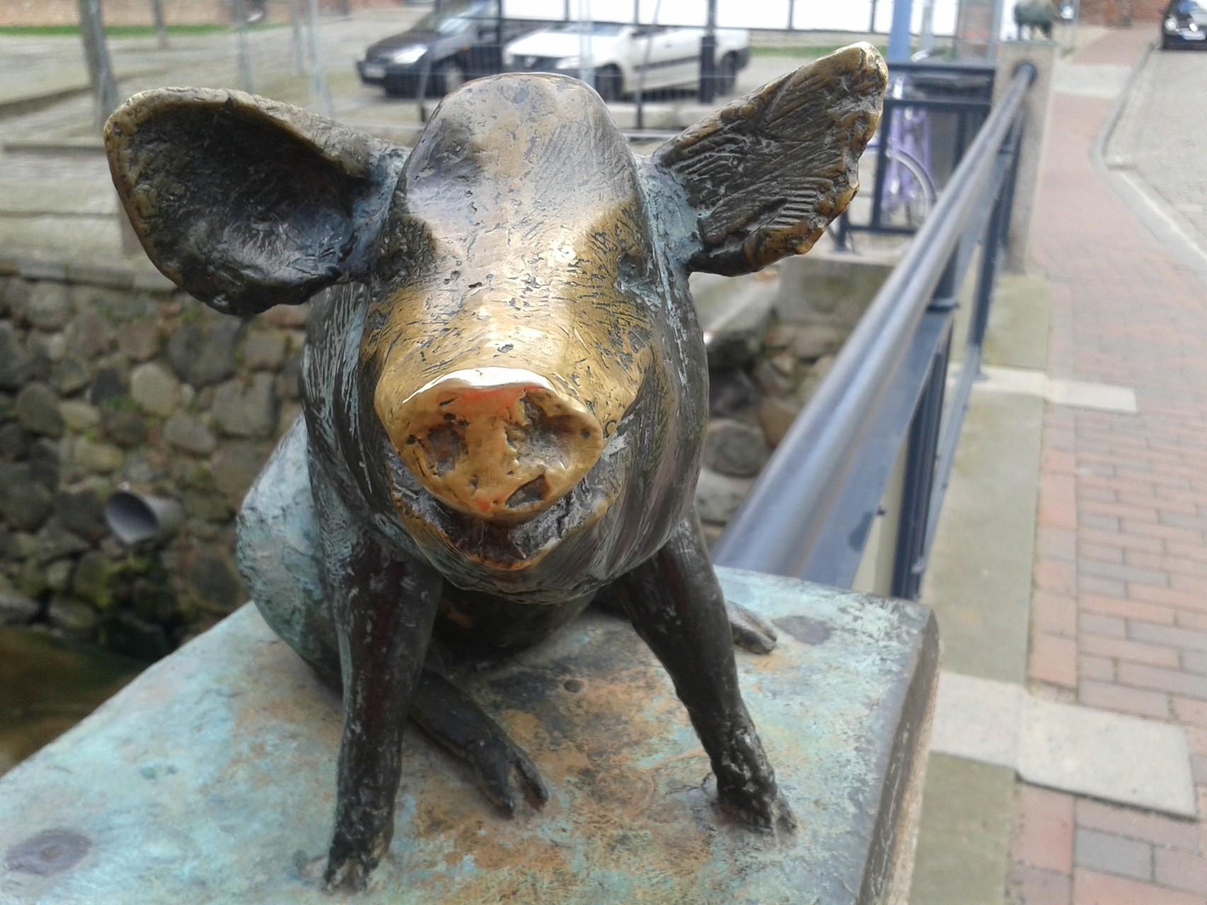 ... Schwein gehabt ;-)