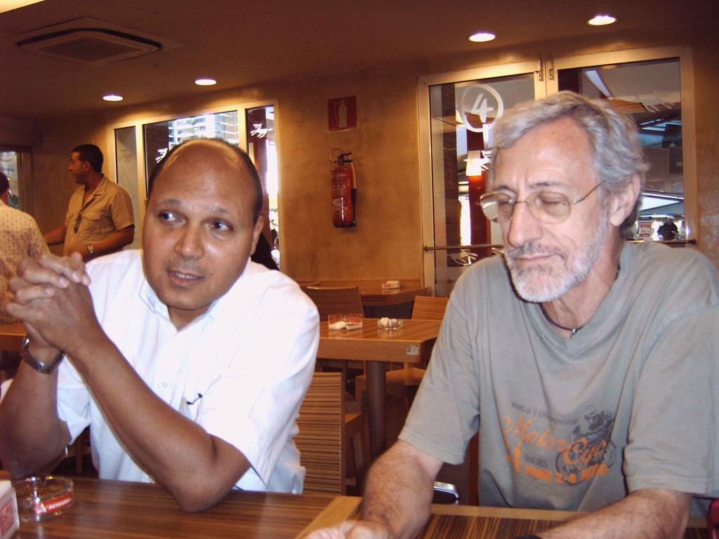 Luis Ramón, y Jose Mª García ( Sept. 2008-Madrid)