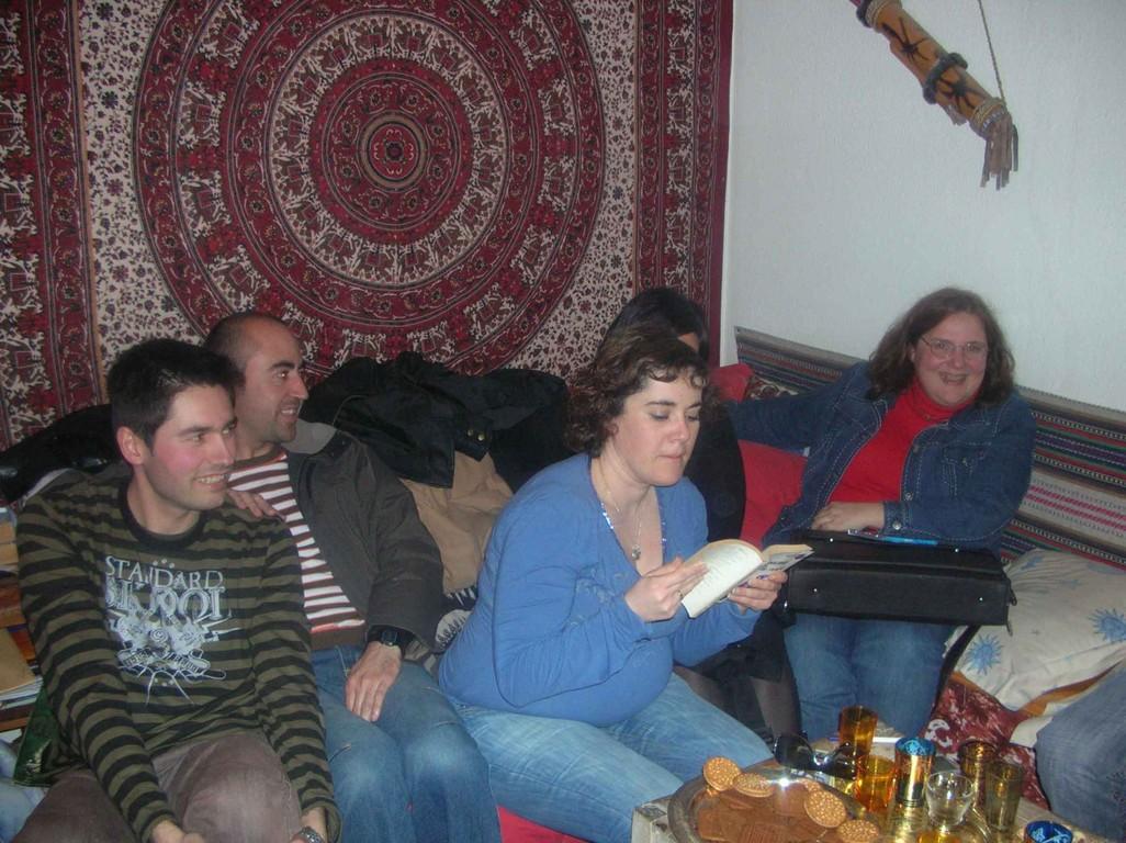 Aquí vemos más socios, Sonia Oliver, Juan Cañadas, Mercedes Izquierdo... ( Toledo - abril 2008)