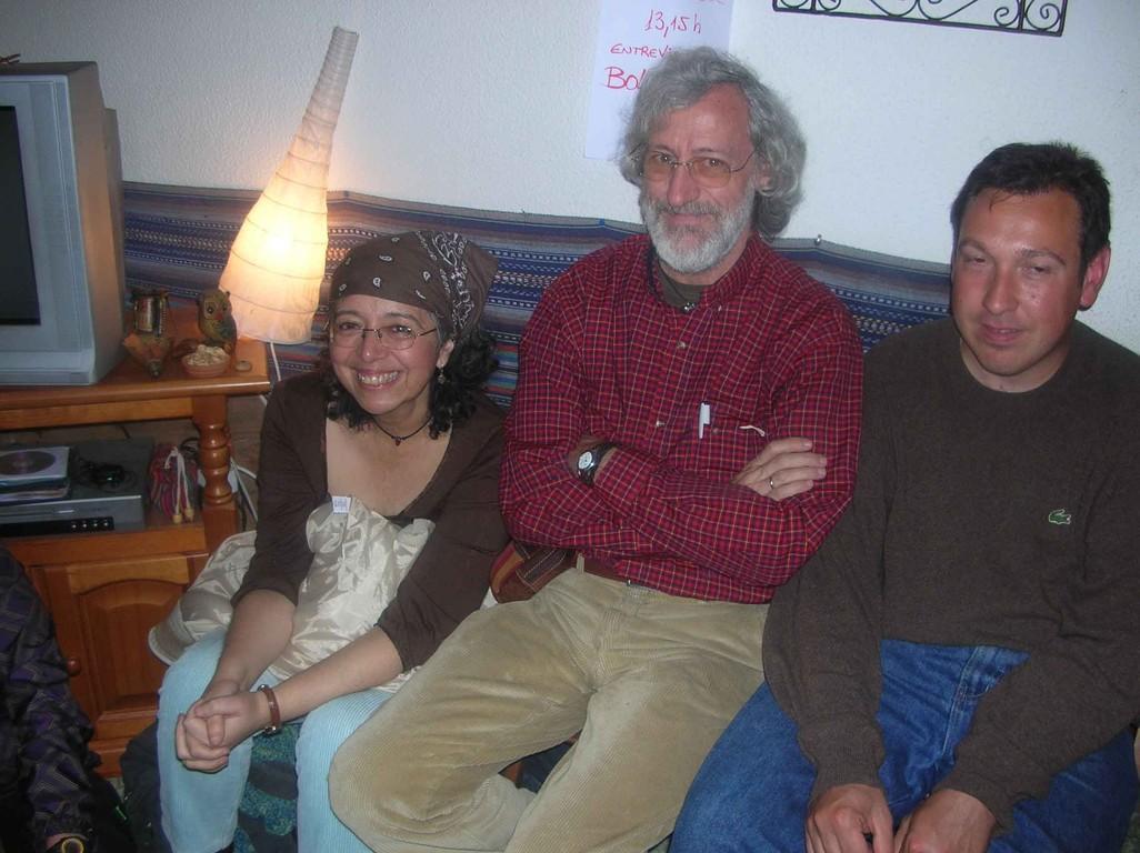 Más socios, Giulia Tamayo, Javier Martin y José Mª (Abril 2007-Toledo)