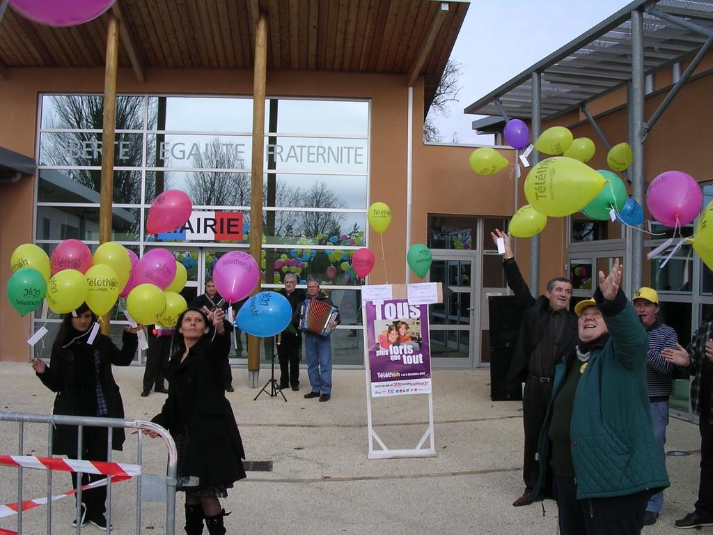 le lacher de Ballons 2009