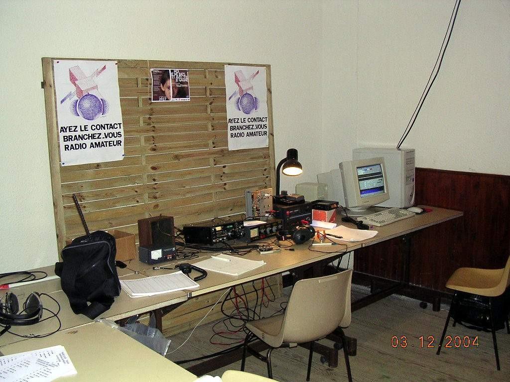 La station en 2004