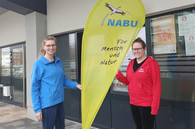 Melanie Bänsch (rechts) ist die neue NAJU-Regionalbetreuung für Südost-Niedersachsen