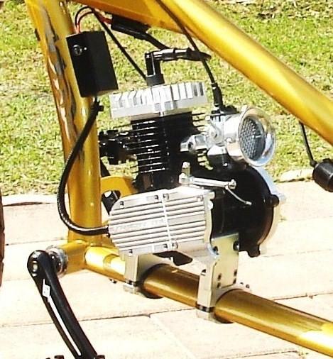 OCC Chopper CNC Mount For 2-Stroke 66CC//80CC Gas Motorized Bicycle Engine