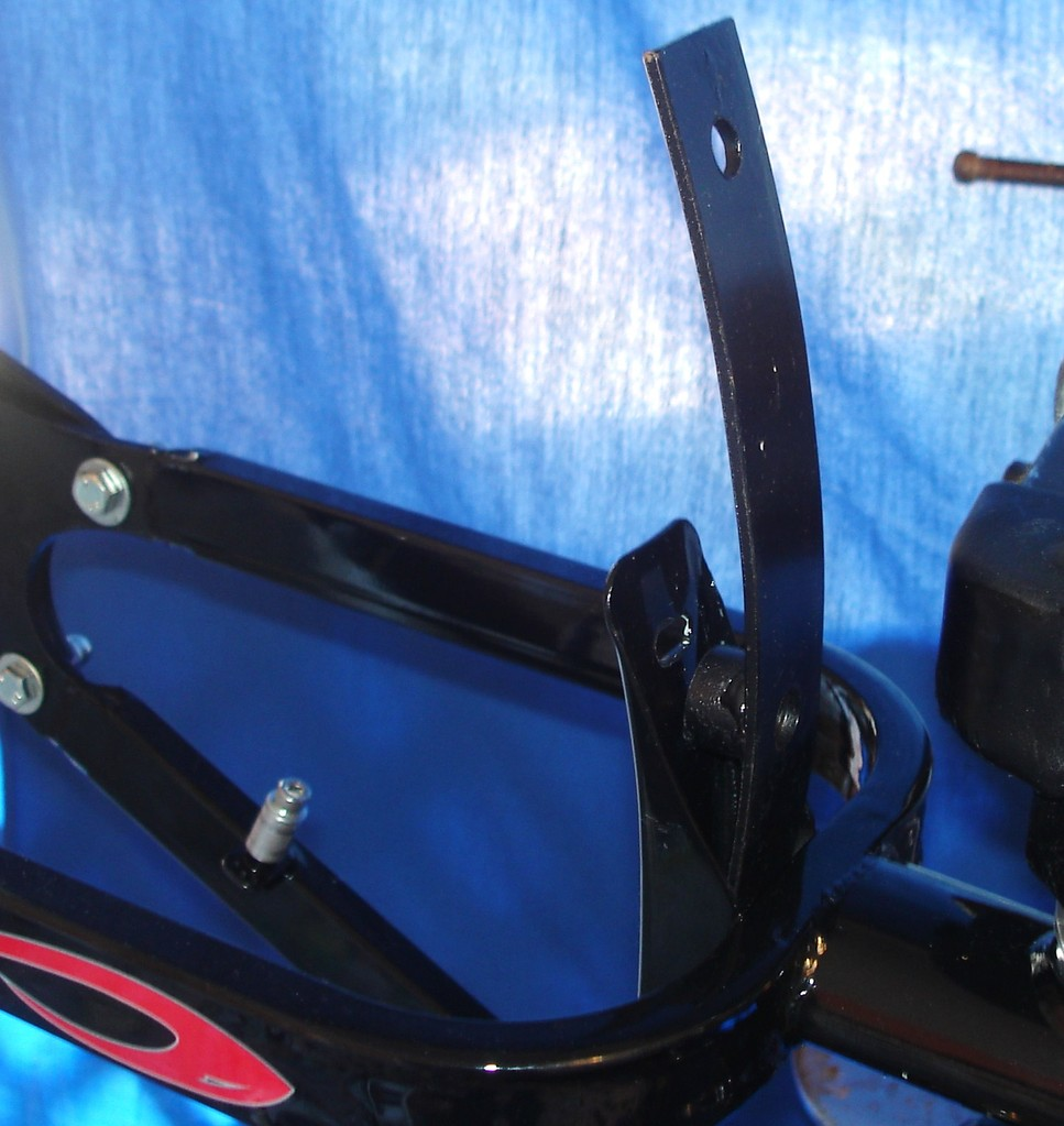 RETROFIT FENDER [BRACKET] TO ACCOMODATE 24 inch XL RR. Wheel Upgrade.