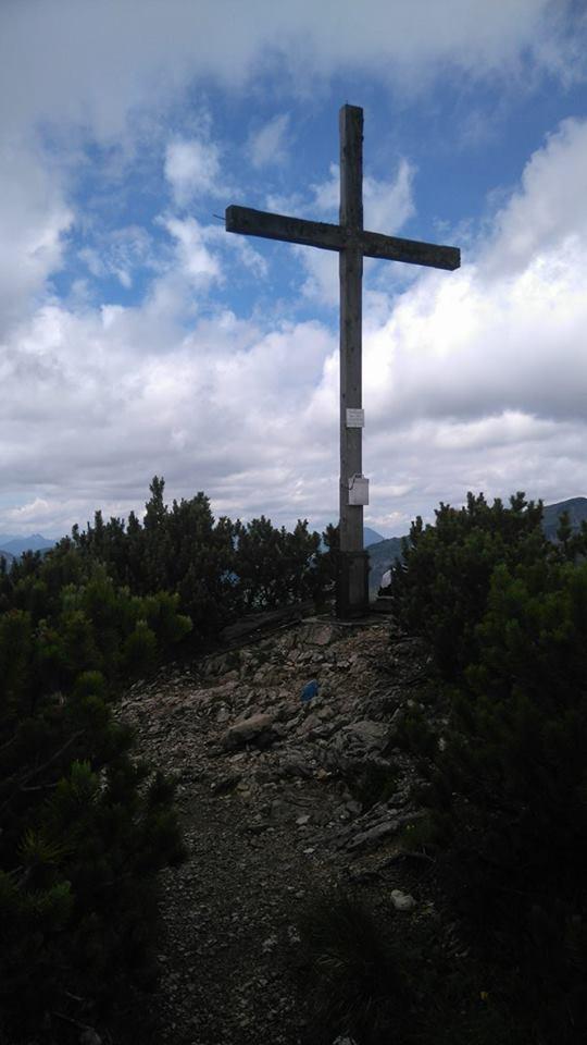 Gipfelkreuz am Thalerjoch