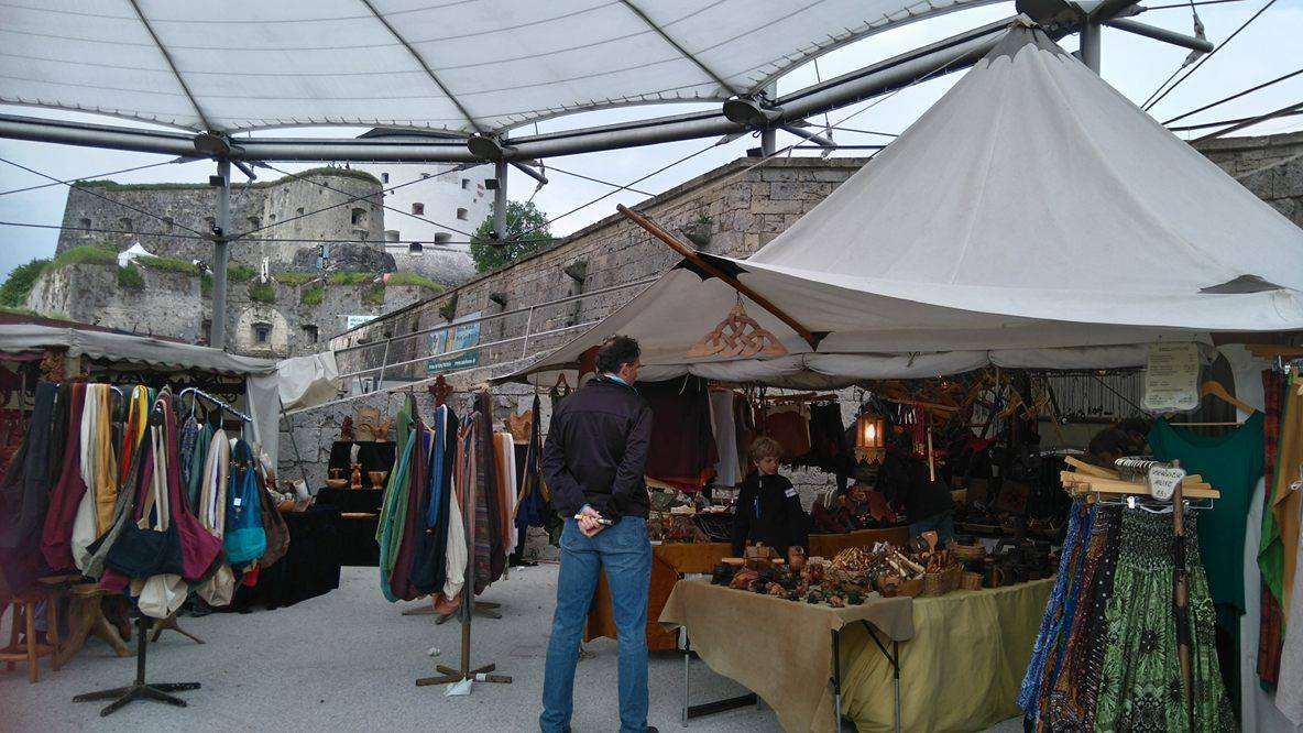 Das Ritterfest in Kufstein findet jedes Jahr am Pfingstwochenende statt