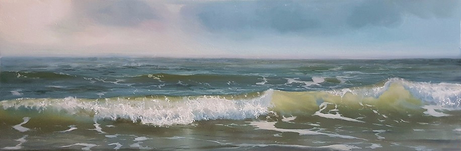 oil on panel 15 x 45 cm SOLD