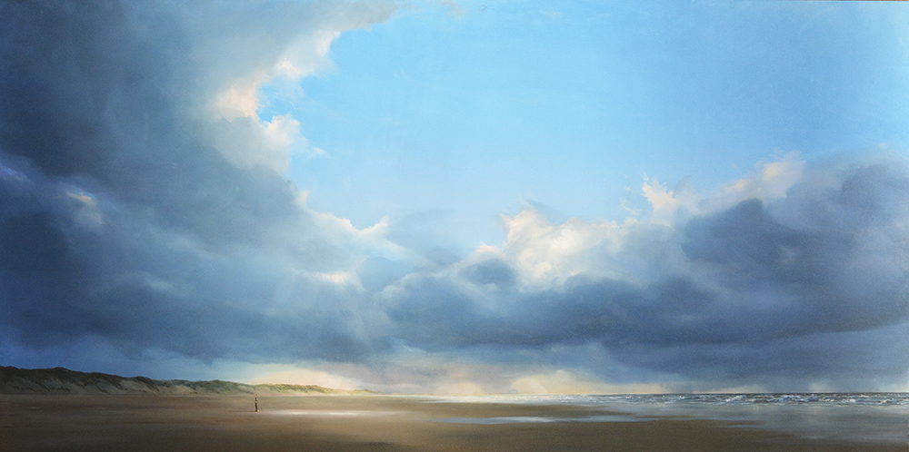 oil on panell 60 x 120 cm SOLD