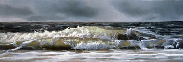 oil on panel 10 x 35 cm SOLD