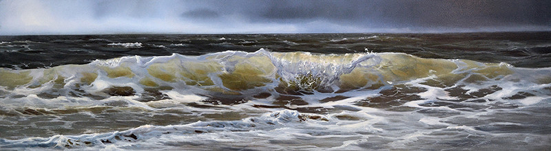 oil on panel 20 x 76 cm SOLD