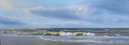oil on panel 20 x 60 cm SOLD