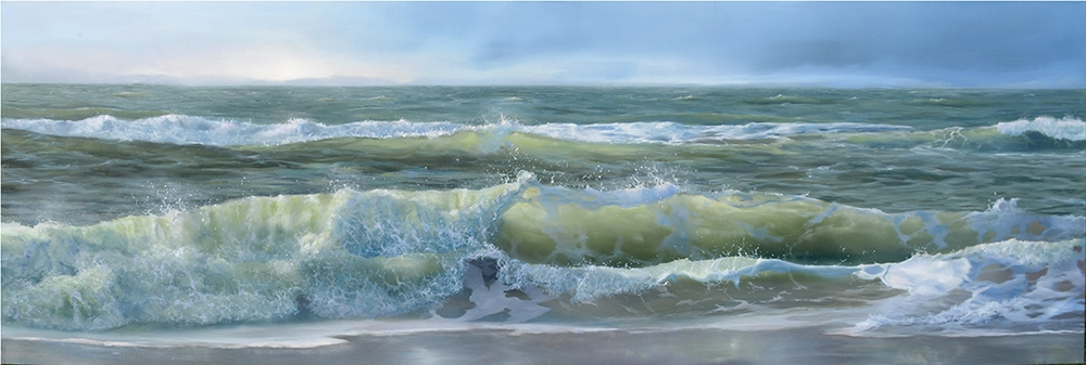 oil on panel 40 x 120 cm SOLD
