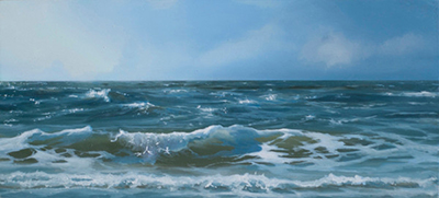 oil on panel 12 x 27 cm SOLD