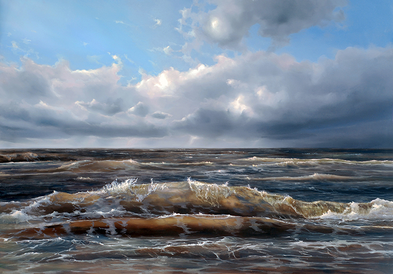 oil on panel 70 x 100 cm SOLD