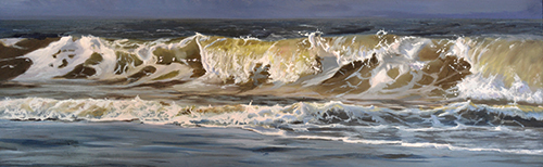 oil on panel 12 x 35 cm SOLD