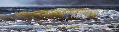 oil on panel 12 x 34 cm SOLD