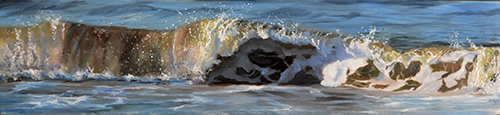 oil on panel 12 x 36 cm SOLD