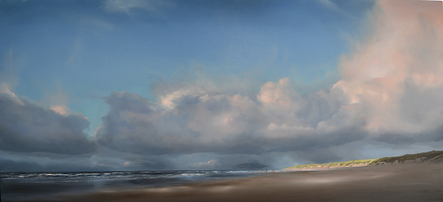 oil on panel 40 x 90 cm AVAILABLE