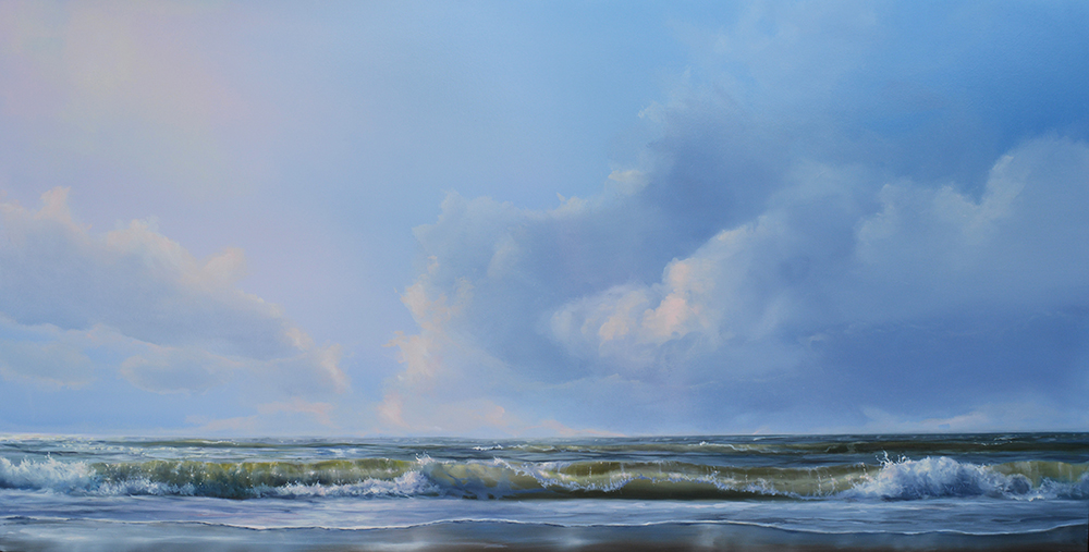 oil on panel 70 x 120 cm SOLD