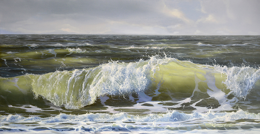 oil on panel 60 x 120 cm SOLD