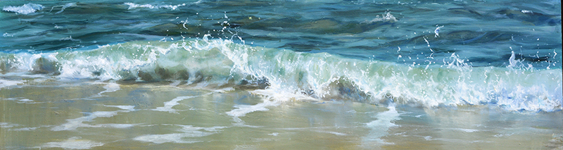 oil on panel 15 x 60 cm SOLD