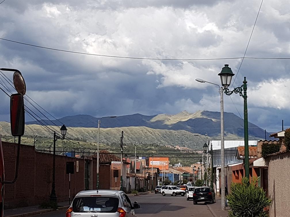 Cusco ist umringt von Bergen, man ist ganz schnell auf über 4.000m Höhe