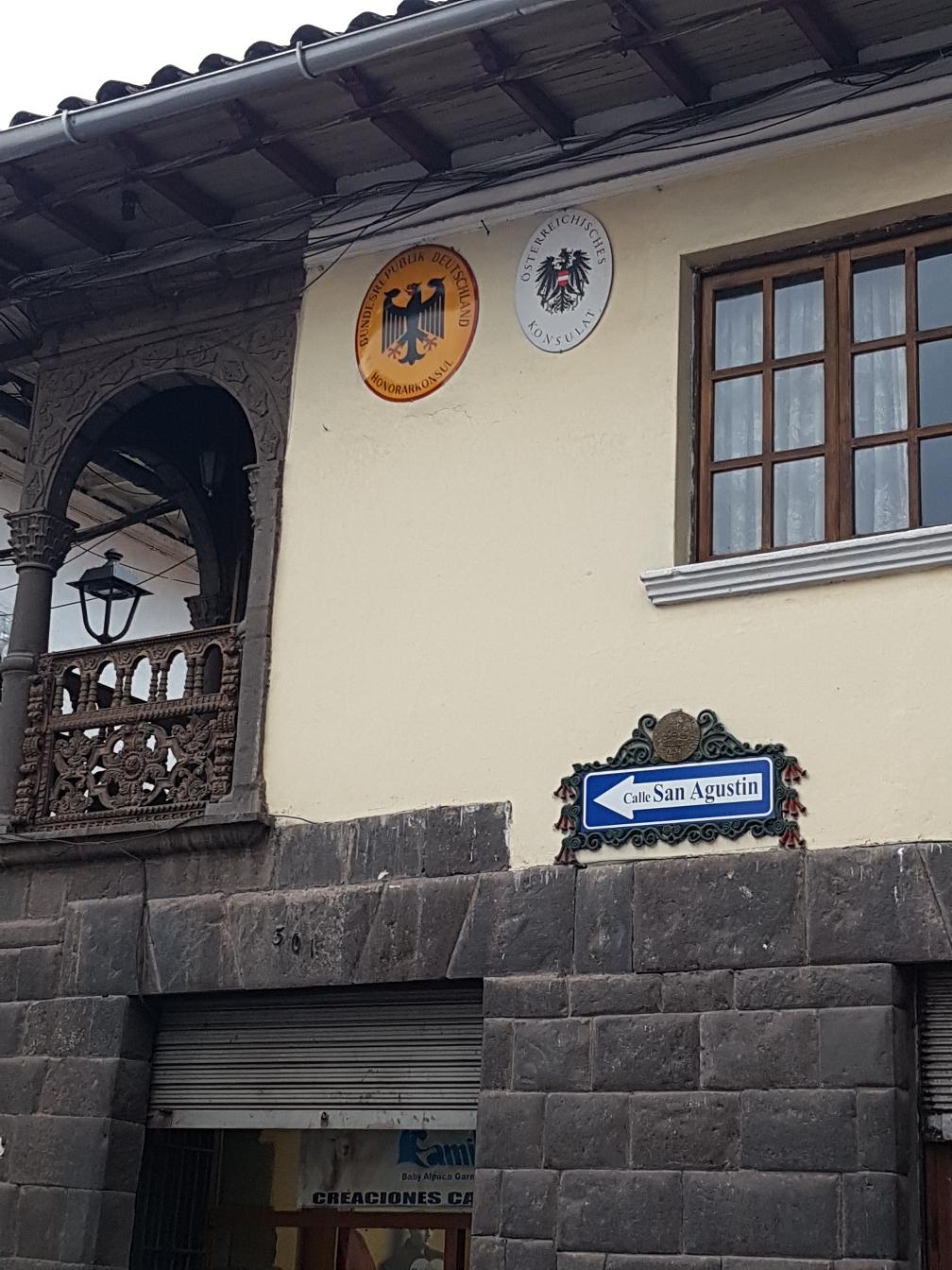 Die deutsche Botschaft in Cusco