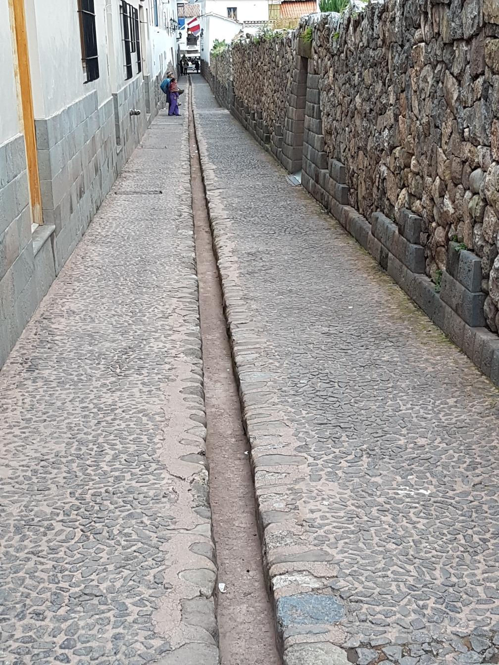 Straße in der Innenstadt