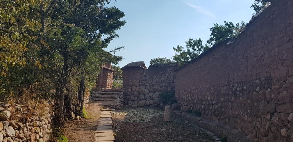 Camino Inca mit ehemaligem Kontrollposten