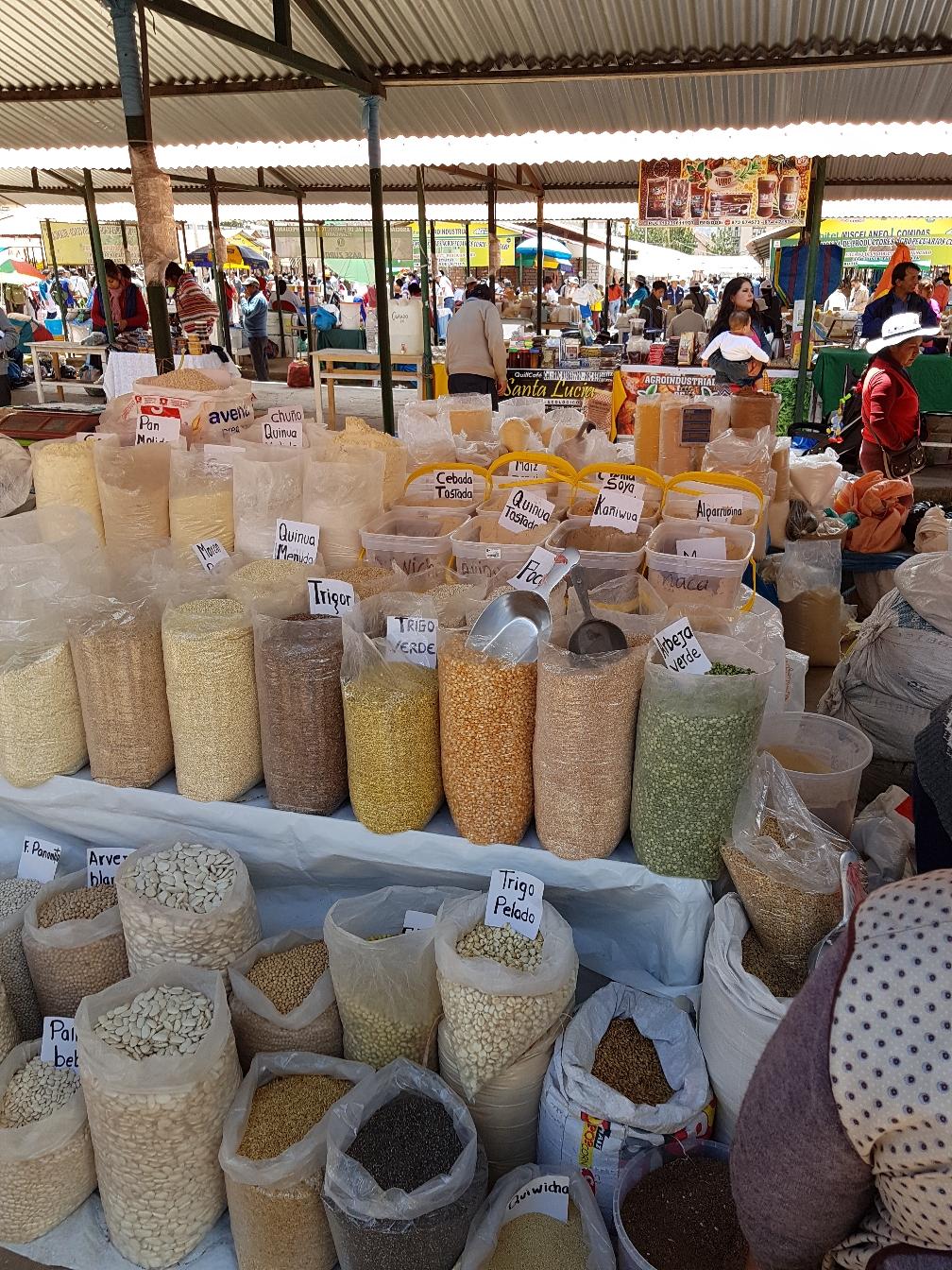 Mehl, Getreide, Hülsenfrüchte