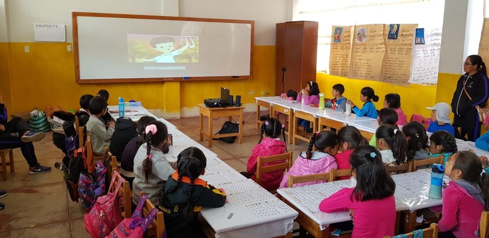 Grundschule in Pisonay