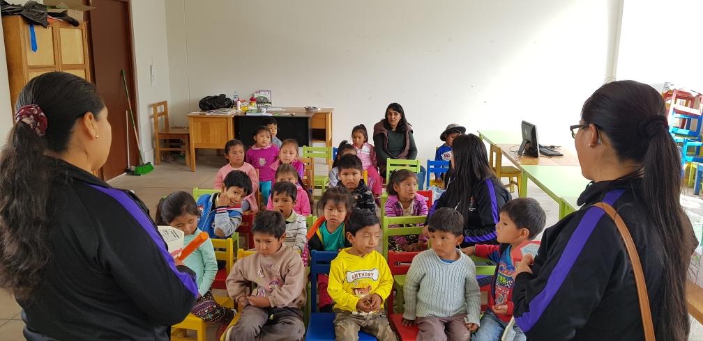 Kindergarten von Pisonay