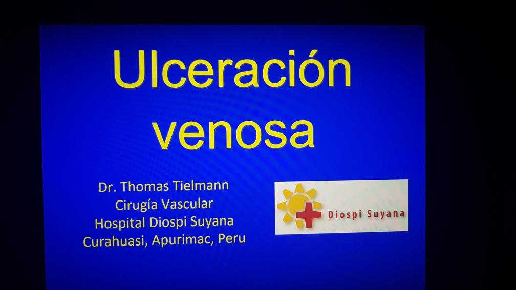 Schulung des Krankenhaus-Personals bei einem Vortrag