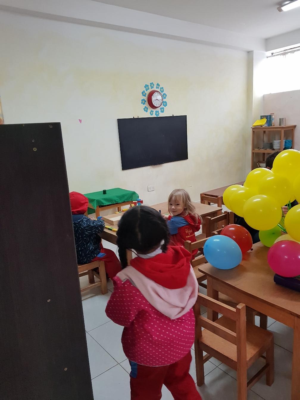 Erster Tag im Kindergarten.