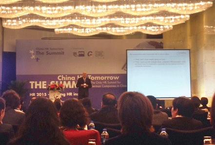 Executive Search China: German Chamber HR Summit Shanghai, China