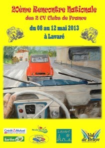 20e rencontre nationale des 2cv clubs de france Rouen