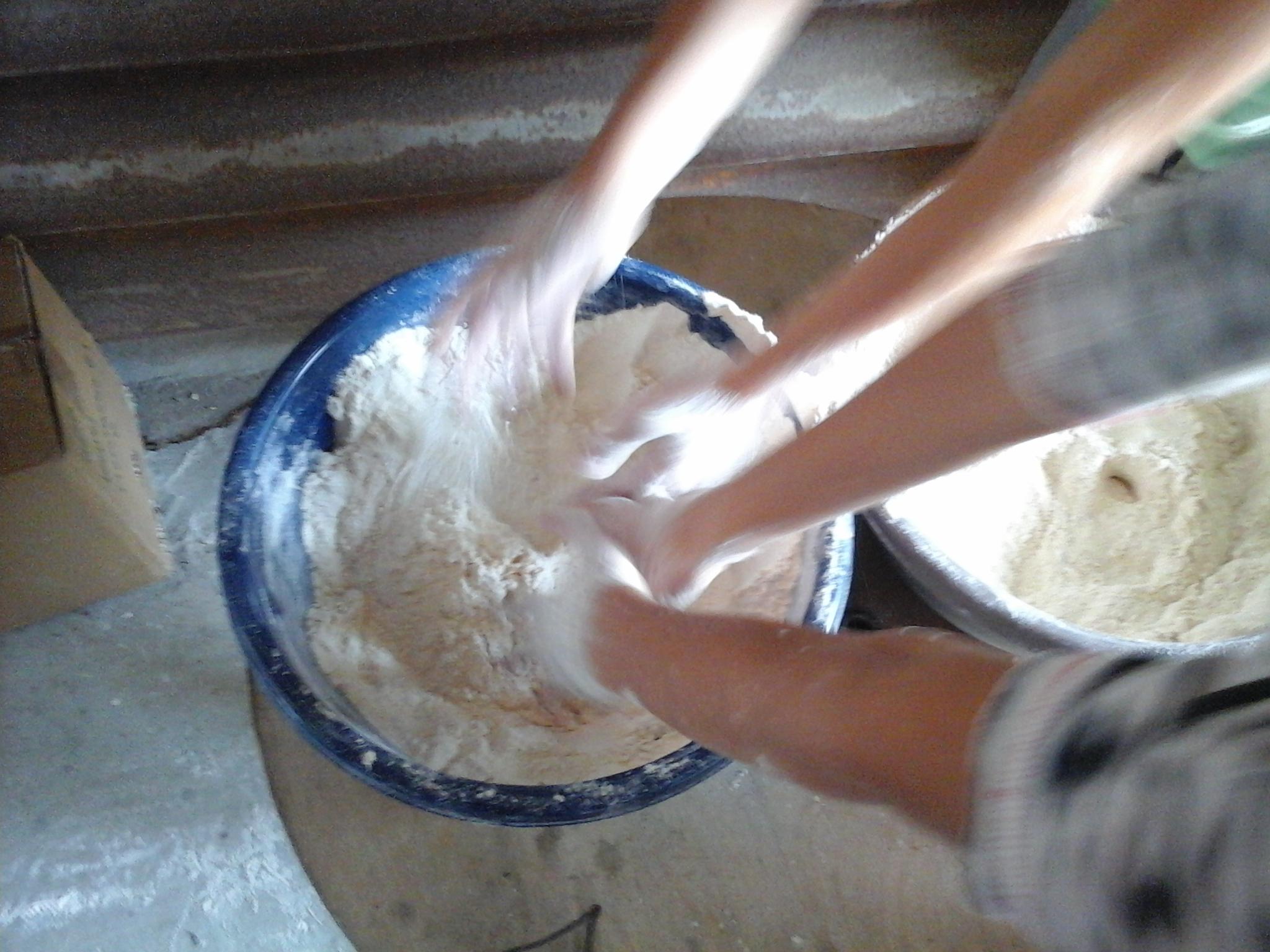 Découverte de la farine