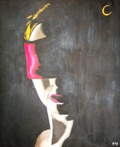 487 - La tête, la nuit et la lune, 2013