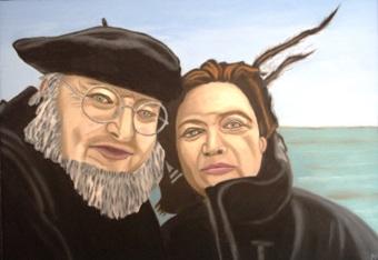 395 - Das alte Paar und das Meer, 2009