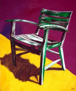 392 - Noch ein Stuhl auf Les Rigords, 2009