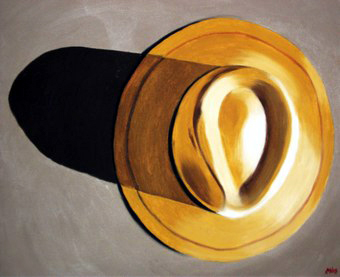377 - de bon matin. chapeau, 2008