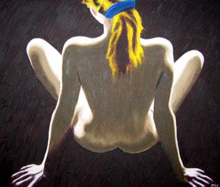 296 - Mit blauer Haarspange, 2003
