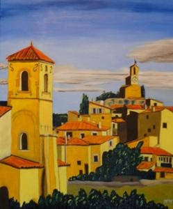 511 - Lourmarin - deux clochers, 2014