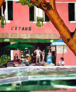370 - L'Etang / Cucuron, 2008