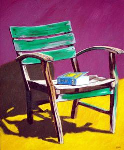 306 - Stuhl auf Les Rigords, 2004