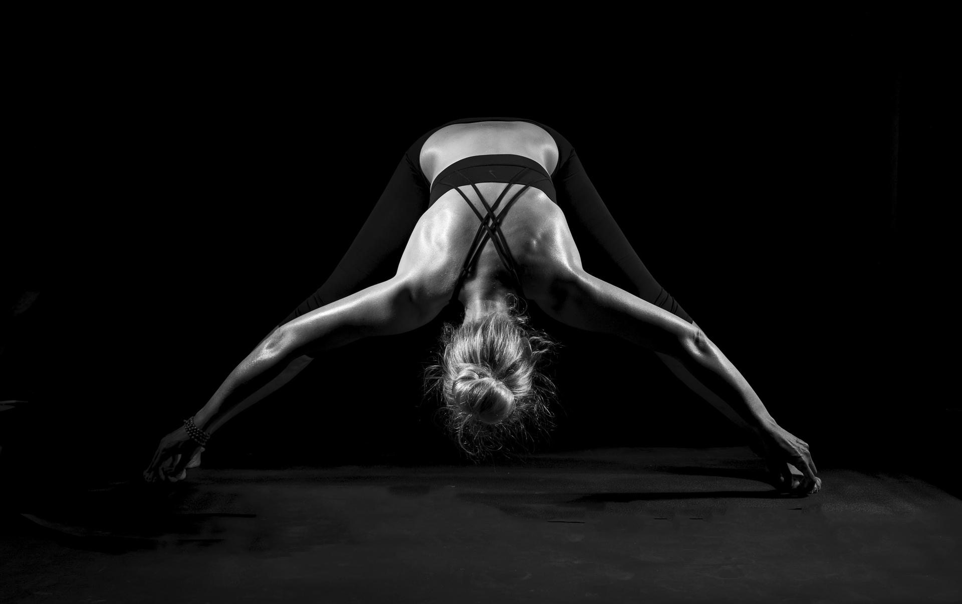Yoga Shooting mit Katja