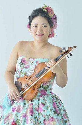 Piace Quartet(ピアーチェカルテット)Violin 樋口 紗衣梨