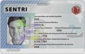 SENTRI Card